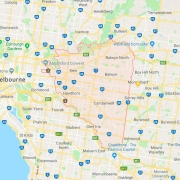 City of Boroondara map
